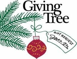 Giving Tree with Ornament